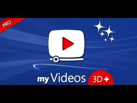 myvideos 3d app for android phones tablets youtube. Black Bedroom Furniture Sets. Home Design Ideas