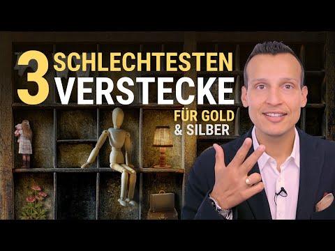 Die 3 Schlechtesten Verstecke Für Gold Und Silber