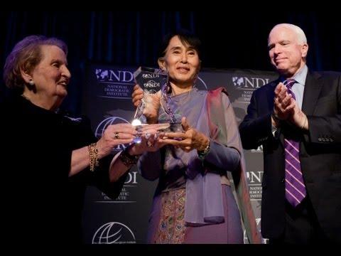 An Evening with Daw Aung San Suu Kyi