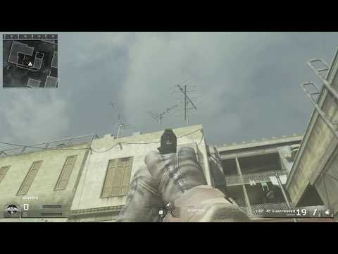 COD Remastered-Easy tutorial on how to get on the roof of map crash