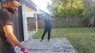 KIZOMBA DANCE/ INSTRUCTOR :CLAUDEL / STUDENT : NANCY