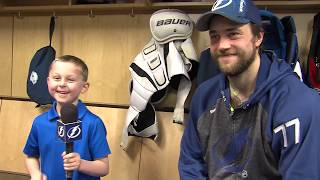 Junior Reporter - One on one with Victor Hedman - 20170206