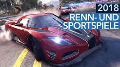 Renn- und Sportspiele 2018 - 5 Highlights für PC, PS4, Xbox One & Nintendo Switch