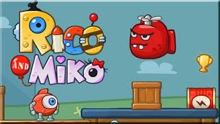 Rico And Miko Game Walkthrough (All Levels)