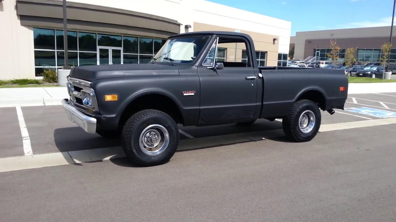 1970 Gmc K1500 4x4 Shortbed 396ci Youtube Ford Ranger