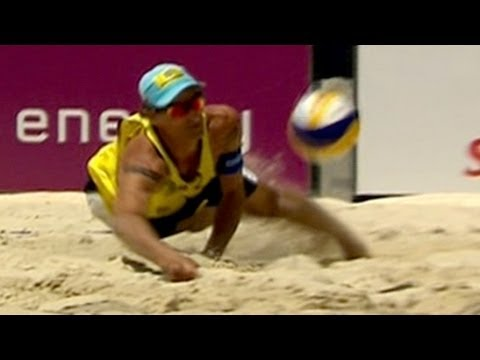 Best scores from Men's Beach Volleyball Gstaad - from Universal Sports Travel Video
