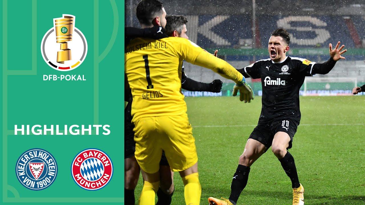 Bartels-Wahnsinn im Elfmeterschießen | Holstein Kiel - FC Bayern 8:7 n.E. | Highlights | DFB-Pokal