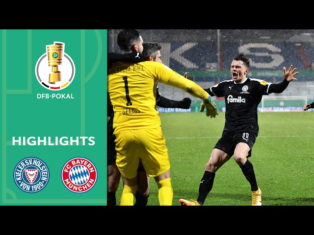 Bartels-Wahnsinn im Elfmeterschießen   Holstein Kiel - FC Bayern 8:7 n.E.   Highlights   DFB-Pokal