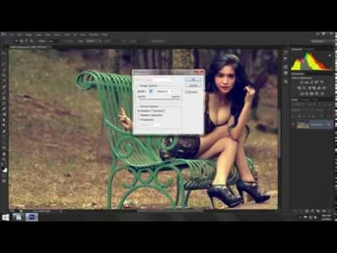 Photoshop Cara Edit Foto Efek Klasik di - YouTube
