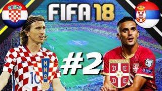 FIFA 18 - INTERNATIONAL ROULETTE #2 - CROATIA VS SERBIA