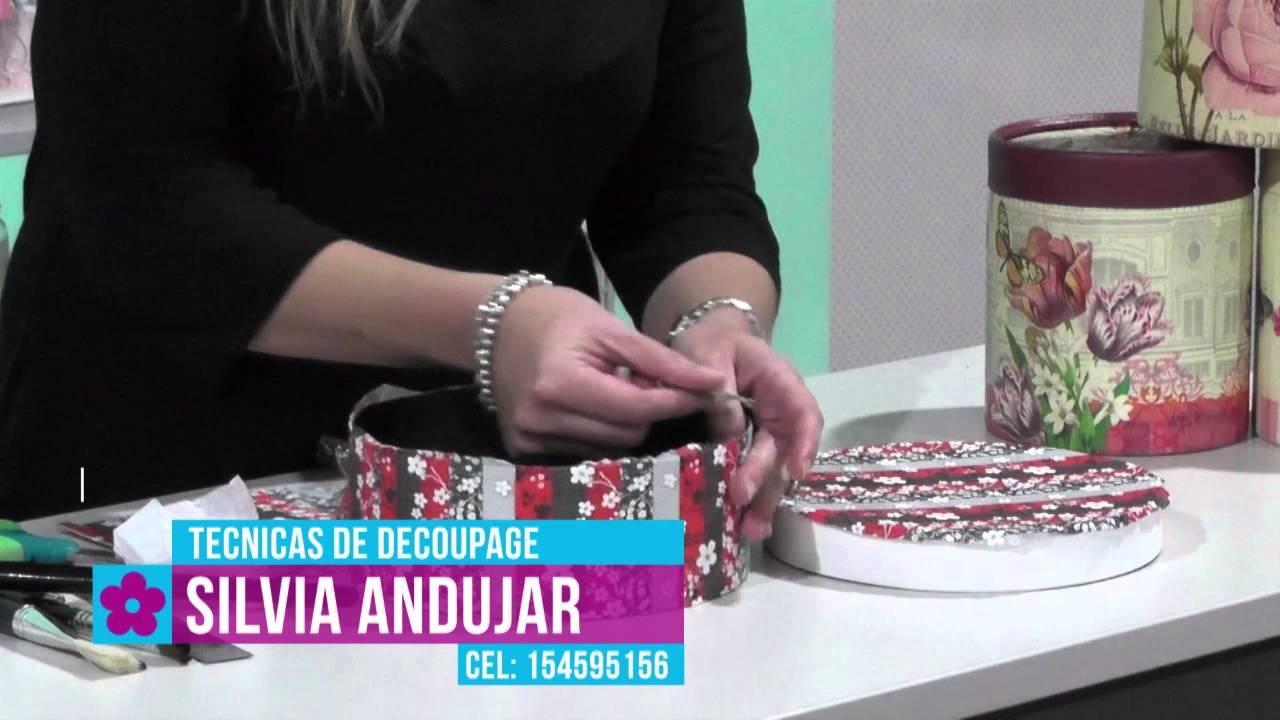 Activa Mujer 176 Así De Fácil Decoupage En Cajas De Cartón