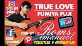 "True Love - OST Japan's Drama ""Ordinary People"" (Fumiya Fuji) figerstyle by. Roms Imanuel"