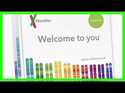 Learn all about who you are and where you come from with the $69 23andMe DNA test kit