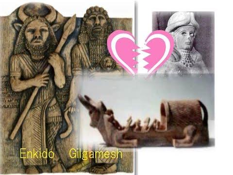 3032【02】Inanna's Broken Heart with Gilgamesh イナンナはギルガメシュに恋をして捨てられ、天の牛を使って復讐したby Hiroshi Hayashi