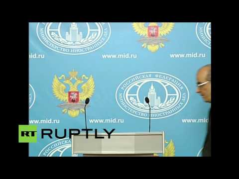 LIVE: Russian FM spokesperson Zakharova holds press briefing in Moscow (English audio)