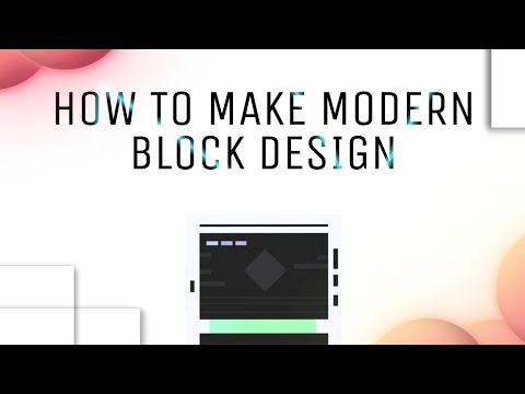 Geometry Dash | How To Build A Modern Block Design (in My Style)