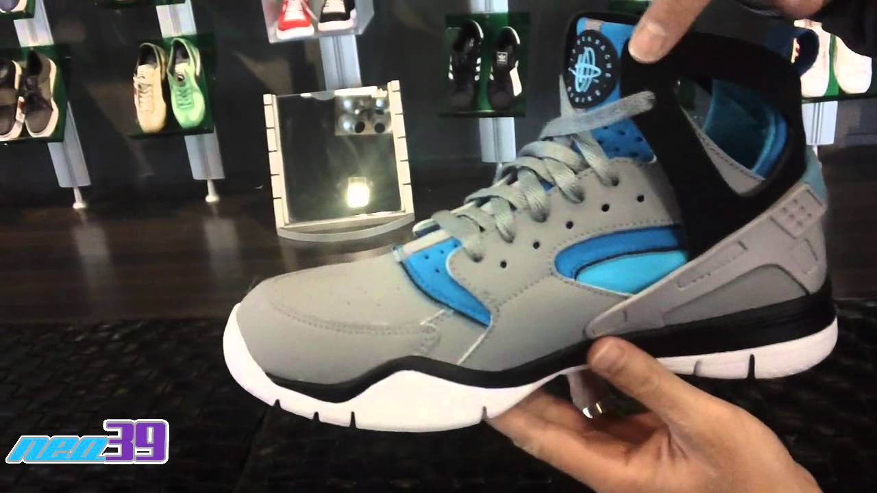d1e1f150b983 Nike Air Huarache Basketball 2012 Stealth Turquoise - YouTube