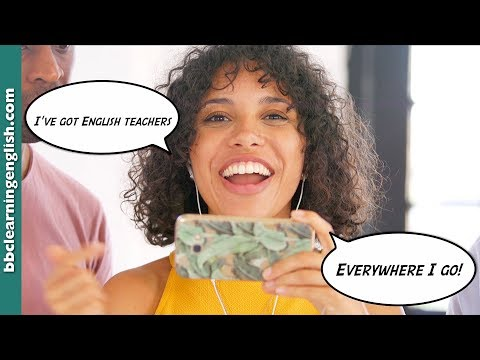 English Teachers On Your Phone! The Musical