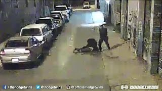 Shocking Police Beating Caught on Tape In San Francisco @Hodgetwins