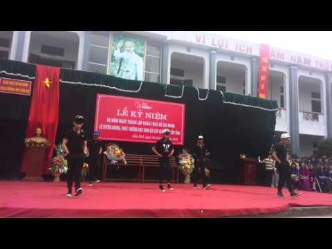 Nhảy Shuffle 11A2 THPT Cẩm Khê-Phú Thọ