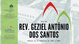 Palavra do Rev. Geziel  Antônio dos Santos