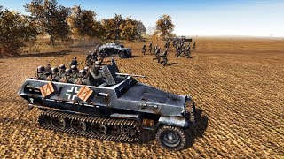 Full Scale Invasion of France 1940 - Allied Armies Defense | Men of War: Assault Squad 2 Gameplay