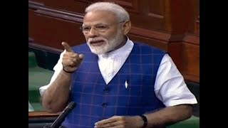 Did Congress credit Narasimha Rao, Manmohan, Vajpayee, PM Modi asks in LS