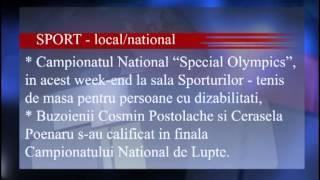 TV NEWS BUZAU -  Jurnal Vineri  29.03.2013 - PC in fierbere, Marcel Ciolacu la Cluj, Furt de cablu