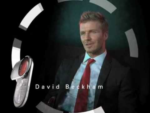 Motorola Aura - David Beckham (behind the scenes)