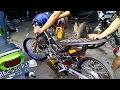 Canh chỉnh XE EXCITER ĐỘ 200cc của lò độ xe tại Indonesia