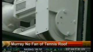 Murray No Fan Of Tennis Roof - Bloomberg
