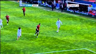 Cristiano Ronaldo rocket shot vs osasuna - osasuna vs real madrid