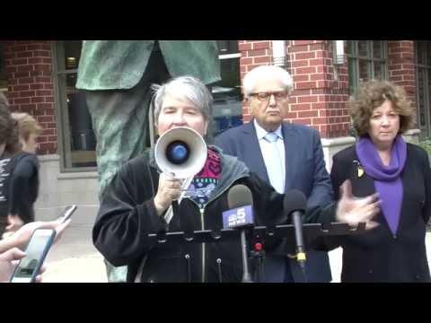 Press Conference: Vincentians Against Torture