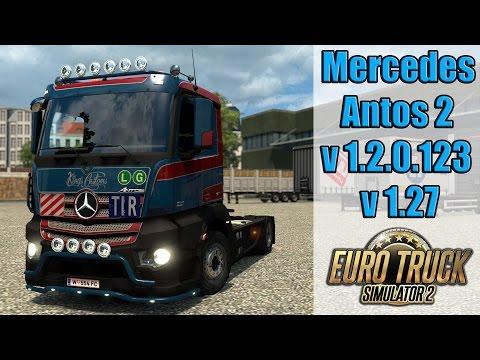 ETS2 - Mercedes Antos 2 v1.27