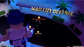 MAD CITY OP DEFENSE| ROBLOX