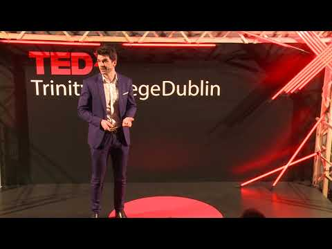 Helping Refugees with Blockchain | Niall Dennehy | TEDxTrini