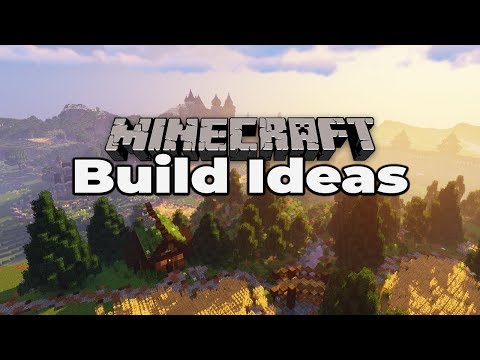 50+ MINECRAFT 1.14 BUILD IDEAS : Tricks And Tips