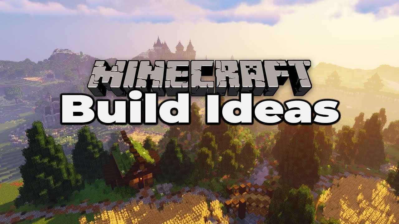 50+ MINECRAFT 1 14 BUILD IDEAS : Tricks and Tips