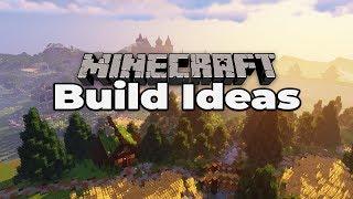 50+ MINECRAFT 1.14 BUILD IDEAS : Tricks and Tips