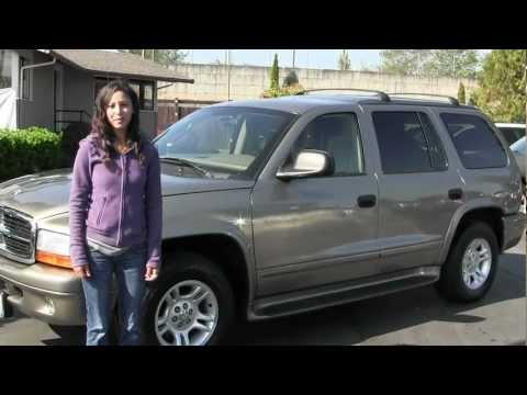 Virtual Video Walk Around from Titus Will Ford in Tacoma WA of a 2003 Dodge Durango
