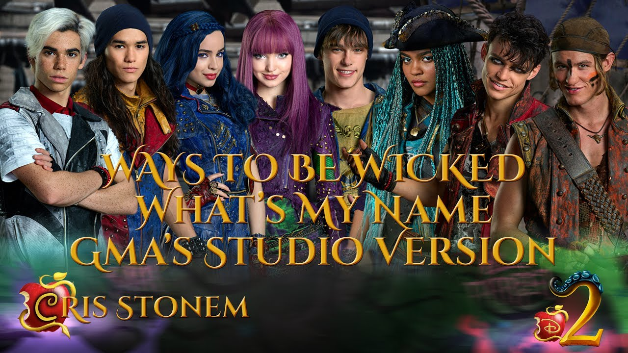 Descendants 2 Cast - Ways To Be Wicked/What's My Name (GMA ...