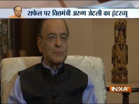 Arun Jaitley says Rahul Gandhi spreading lies on Rafale deal, asks him 15 questions