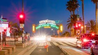 Long Exposure Hyperlapse of Santa Monica Pier