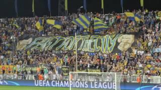 Вынос флага гимн Лиги Чемпионов баннер Ростов - Аякс - 4:1