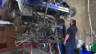 Reparatur Mercedes W168 Purzel Teil 3