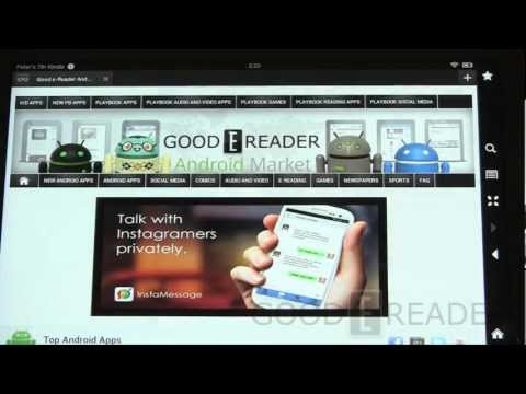 """Kindle Fire HD 8.9"""" How To Sideload Apps"""