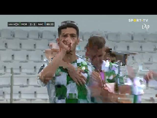 Goal | Golo André Luis: Moreirense (2)-2 CD Nacional (Liga 20/21 #31)