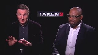 Taken 3 (2015) Generic Interview - Liam Neeson and Forest Whitaker
