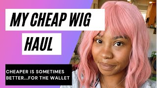 My Cheap(er) Wig Haul Review