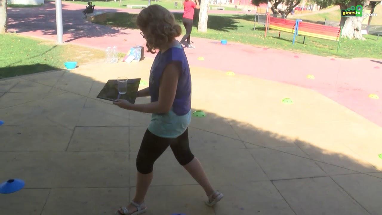 Integrantes del Campus 'Sun Gines' disfrutaron de una divertida gymkhana de ocio saludable